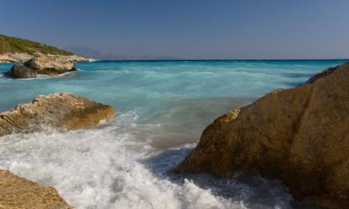 Zdjecie GRECJA / Wyspy Jońskie / Zakynthos / plaża Xigia