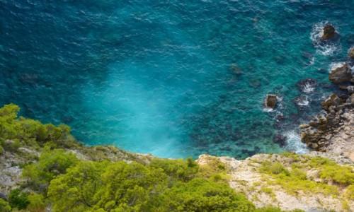 Zdjecie GRECJA / Wyspy Jońskie - Zakynthos / okolice Kampi / zatoka Schiza