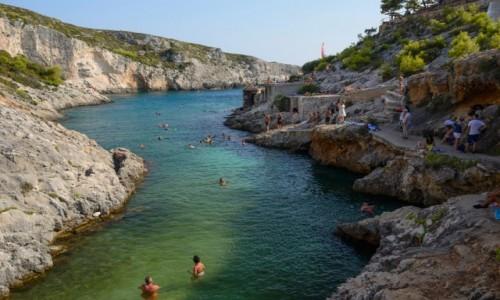 Zdjecie GRECJA / Wyspy Jońskie / Zakynthos / zatoka w Porto Limnionas