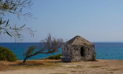 Zdjecie GRECJA / Wyspy Jońskie -Zakynthos / Tsilivi / wenecki punkt obserwacyjny