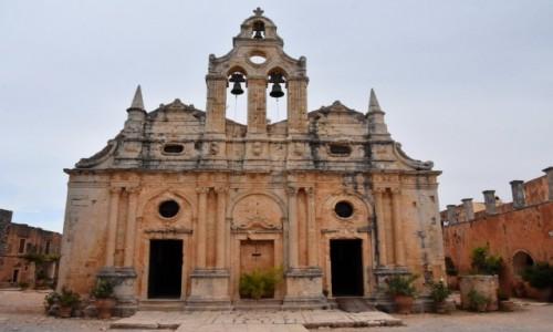 Zdjęcie GRECJA / Kreta / północno-zachodnie zbocze masywu Psiloritis / Klasztor Arkadi