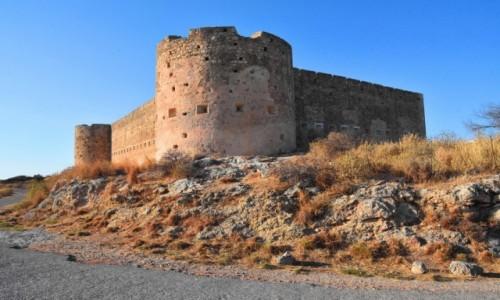 Zdjęcie GRECJA / Kreta / Aptera / Turecka twierdza nad zatoką Souda