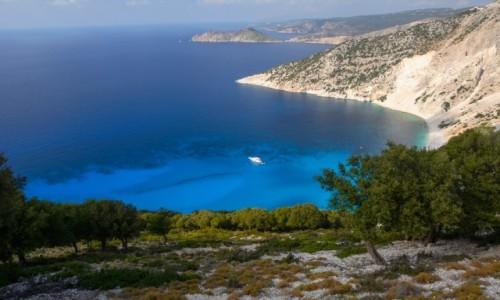 Zdjecie GRECJA / Wyspy Jońskie / Kefalonia / plaża Mirtos