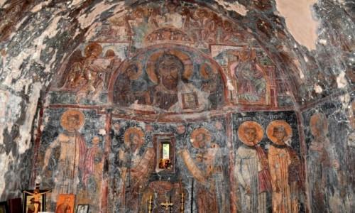 GRECJA / Kreta / Elos / Malowidła w kościele św. Jana w Elos