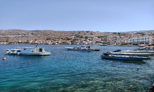 Zdjecie GRECJA / blisko Turcji / Grecka wyspa Simi / Wyspa spokoju
