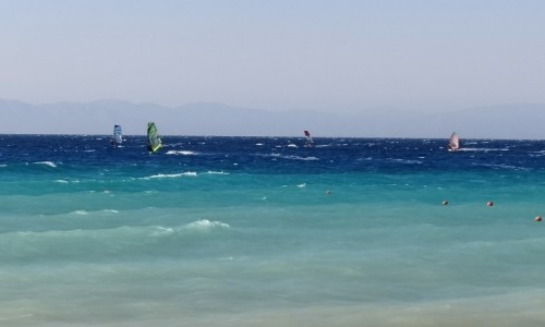 Zdjecie GRECJA / Rodos / Ialissos / Wietrzna plaża