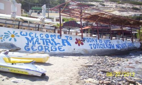 Zdjecie GRECJA / Kreta / Matala / Carpe diem, przyjacielu !