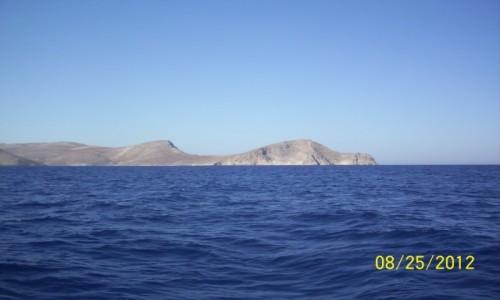 Zdjecie GRECJA / Kreta / Dia / Wyspa Dia-cypel