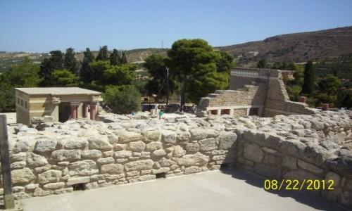 Zdjecie GRECJA / Kreta / Knossos / Knossos