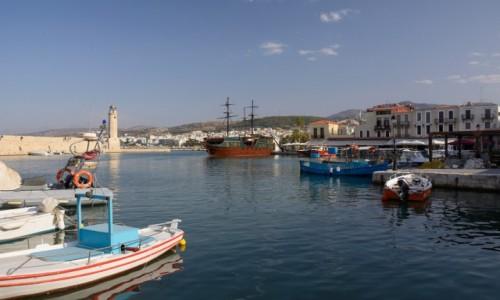 Zdjecie GRECJA / - / Kreta / port wenecki w Rethymno