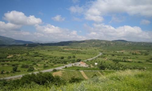 GRECJA / środkowy / Grota Zeusa widok / Kreta