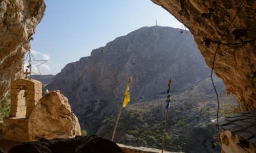 Zdjecie GRECJA / Kreta / w pobliżu miejscowości Topolia / Agia Sofia cave (Wisdom of God)