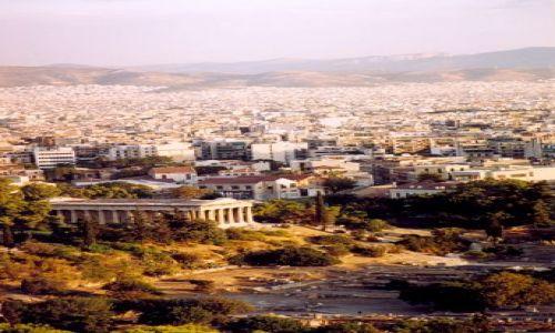 Zdjecie GRECJA / brak / Ateny / Widok na Ateny