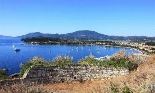 Zdjecie GRECJA /  Korfu / Stara Forteca / Zatoczka