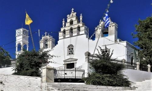 Zdjęcie GRECJA / Cyklady / Wyspa Naksos / Urok greckich kościołów - Filoti