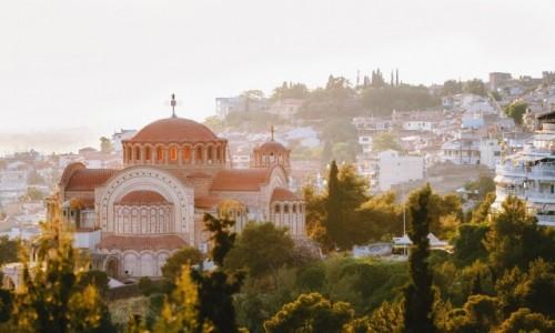 GRECJA / Saloniki ?  drugie największe miasto Grecji sięgające historią III w. p.n.e. / --- / Saloniki