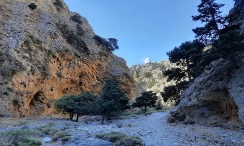 GRECJA / Południowa Kreta  / Imbros / Wąwóz Imbros Knossos