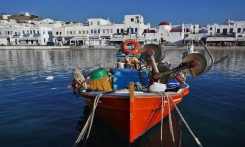 GRECJA / Cyklady / Wyspa Mykonos / Co jest potrzebne rybakowi...