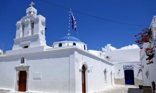 Zdjecie GRECJA / Cyklady / Wyspa Paros / Urok greckich kościołów - Paros