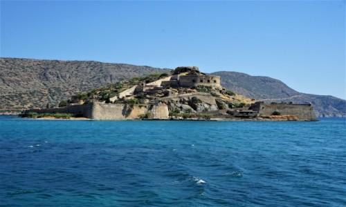 GRECJA / Kreta / Gmina Ajos Nikolaos / Spinalonga, wyspa trędowatych