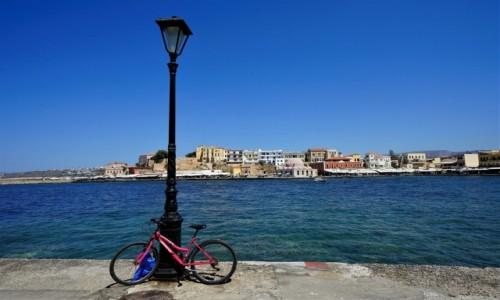 Zdjecie GRECJA / Kreta / Chania / Rower