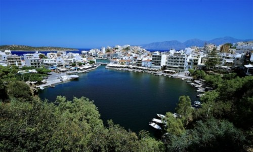 Zdjecie GRECJA / Kreta / Agios Nikolaos / Jezioro Voulismeni