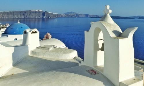 Zdjecie GRECJA / Santorini / Oia / Biała magia