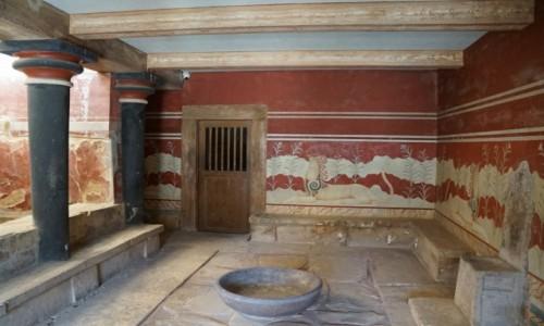 Zdjecie GRECJA / Kreta / Heraklion / Pałac Knossos, ruiny