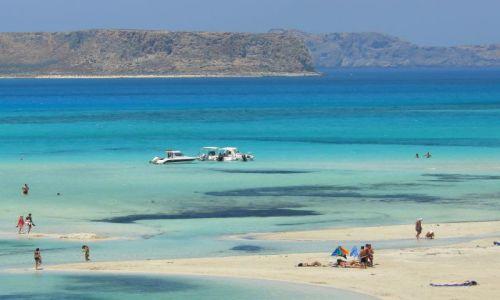 GRECJA / Kreta / Pla�a Balos / Pi�kna Pla�a