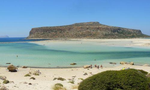 Zdjecie GRECJA / Kreta / Plaża Balos / Piękna Plaża c.d