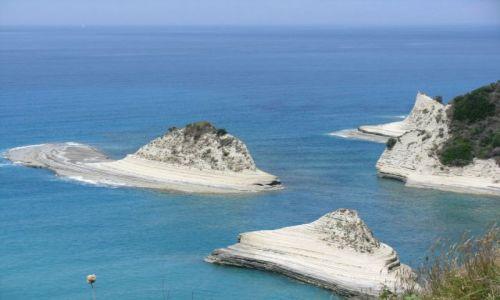 Zdjecie GRECJA / Korfu / Peraludes / kanał d`l amur