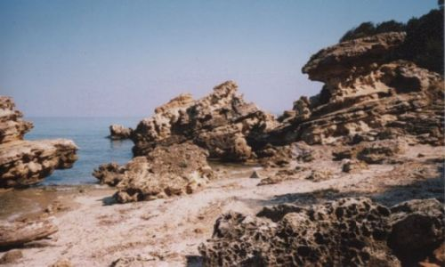 GRECJA / Chalkidiki / Afitos / Wybrzeże
