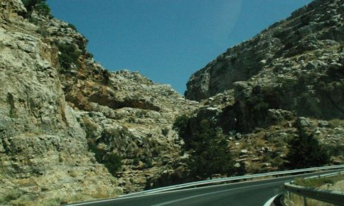 Zdjecie GRECJA / Rodos / Gdzieś na zachodnim wybrzeżu / Zachodnim wybrzeżem