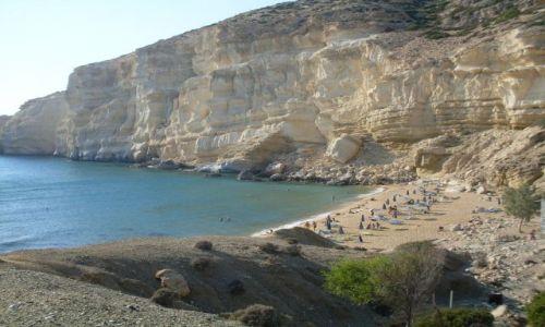 Zdjecie GRECJA / Matala / Kreta / Grecja - Matala