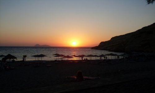 Zdjecie GRECJA / Kreta / Matala / Tu gdzie zyja hipisi - Matala