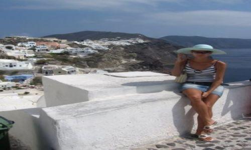Zdjecie GRECJA / brak / Santorini / Na wulkanicznej