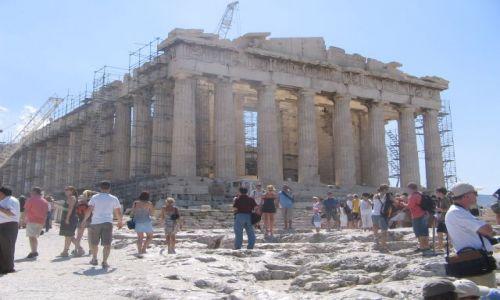 Zdjecie GRECJA / Attyka / Ateny / Parthenon :)