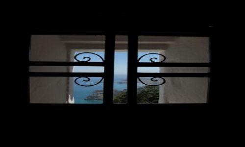 Zdjecie GRECJA / Wyspa Rodos / Klasztor Tsambika / okno