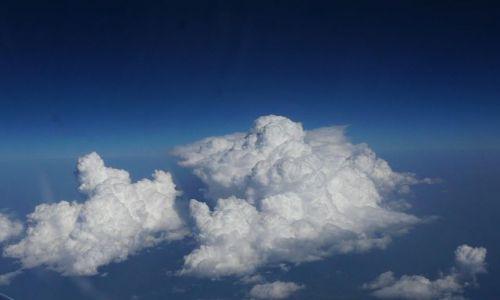 Zdjecie GRECJA / Rodos / z samolotu / niebo nad Rodosem