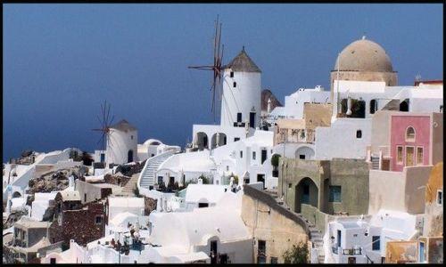Zdjecie GRECJA / brak / Santorini  / Wyspa