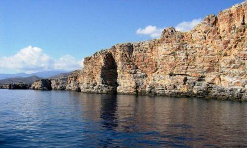 Zdjecie GRECJA / Kreta / Zatoka Mirabello / kierunek Spinal