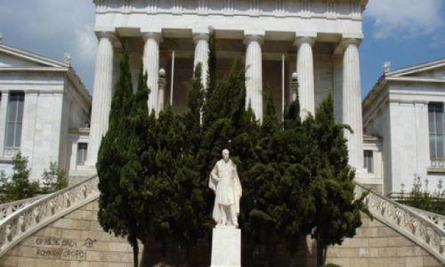 GRECJA / Ateny / Ul.Akademijas / Akademia Platona