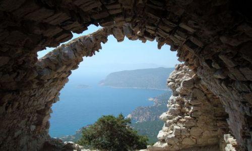 Zdjęcie GRECJA / Rodos / Monolithos / Monolithos