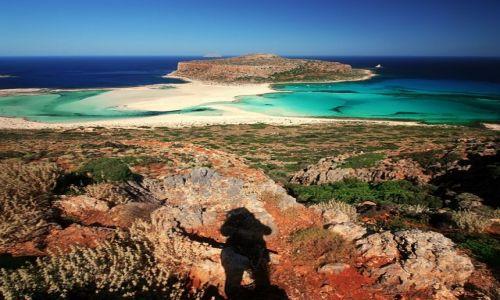 Zdjecie GRECJA / Kreta Zachodnia / zatoka Balos / Gramwoussa