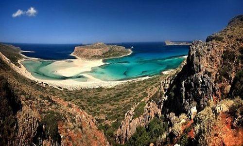 Zdjecie GRECJA / Kreta Zachodnia / zatoka Balos / Balos
