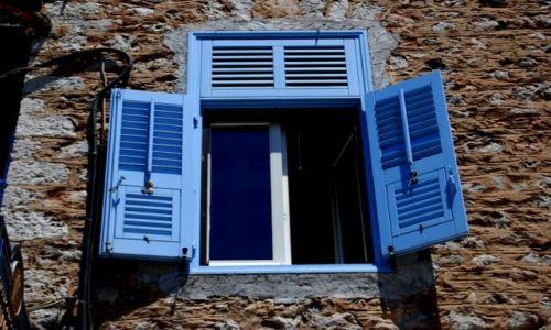 Zdjecie GRECJA / Peloponez / Napflio / Na niebiesko
