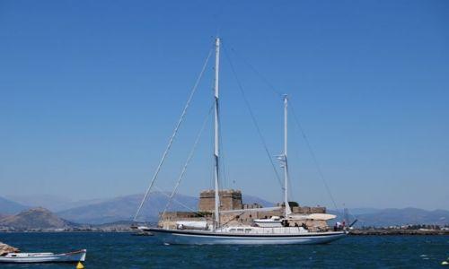 Zdjęcie GRECJA / Peloponez / Napflio / Statek