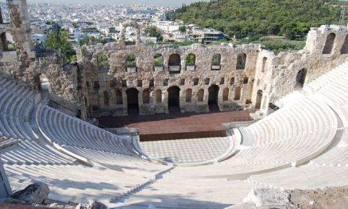 Zdjecie GRECJA / brak / Ateny / Amfiteatr grecki