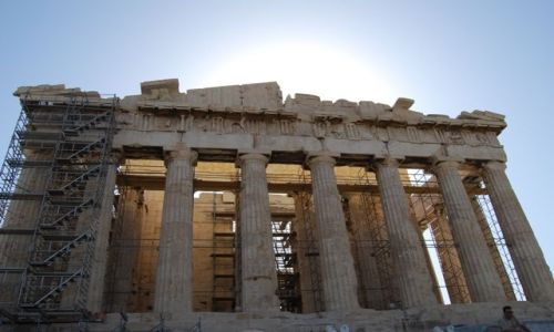 Zdjecie GRECJA / brak / Ateny / Partenon