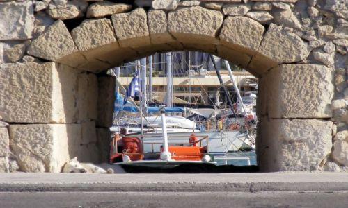 Zdjęcie GRECJA / Kreta / Heraklion / Okno